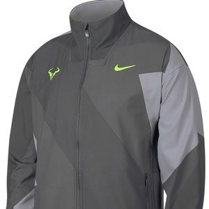 Nike men Rafa Nadal Tennis court Carbon full zip